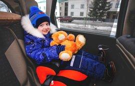 Такси с детским креслом без доплат